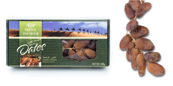 Prince Tomour Tunisian Branched Dates (Seeded) 500g
