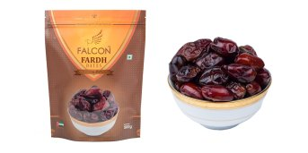 Falcon Fardh Dates (Seeded) Pouch - 500g