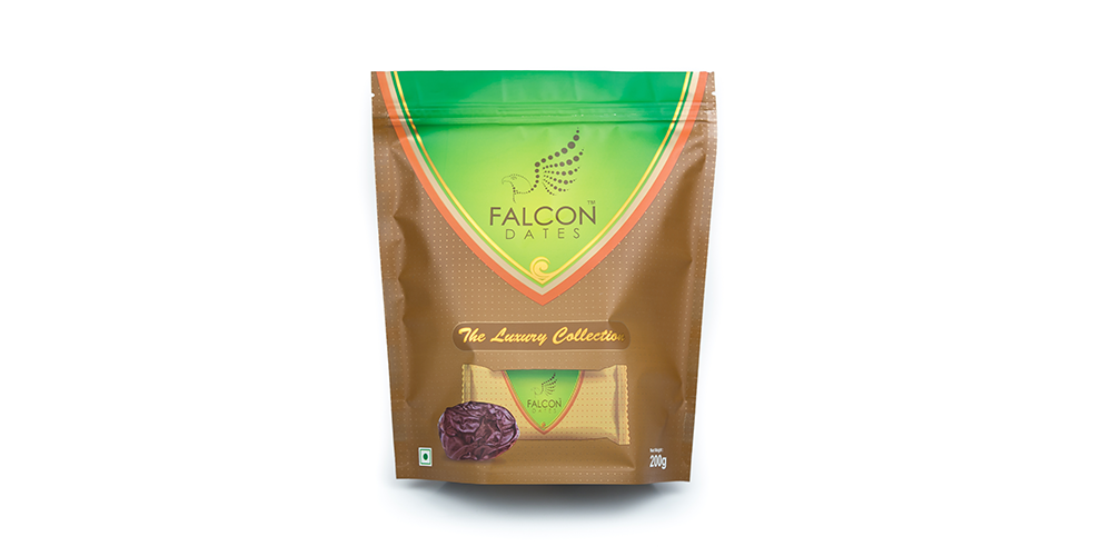 Falcon Safawi Dates Multipiece Pack (Seeded) - 200g