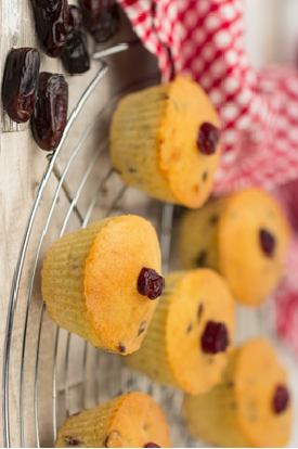 Date and Cranberry Muffins